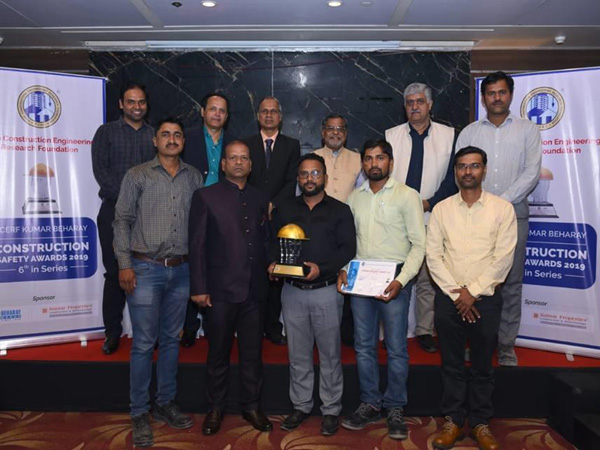 Prestigious Construction Safety Award <br />2019 to VTP Solitaire