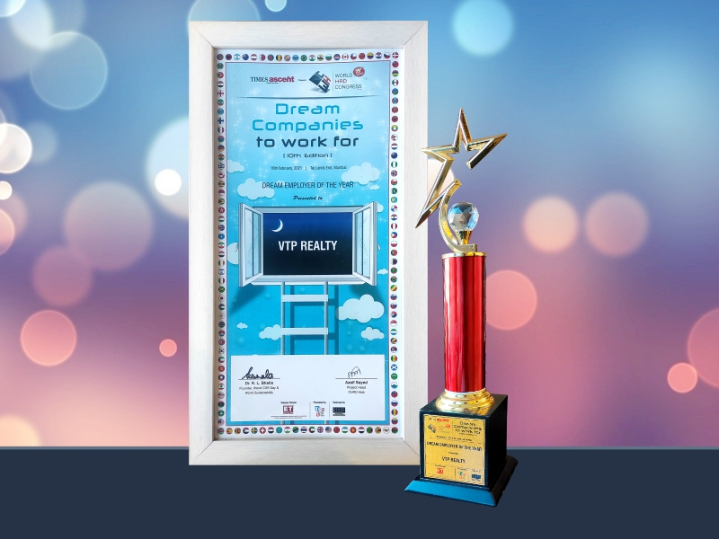 Dream Employer Of The Year – Vtp Realty – National Category- Real Estate