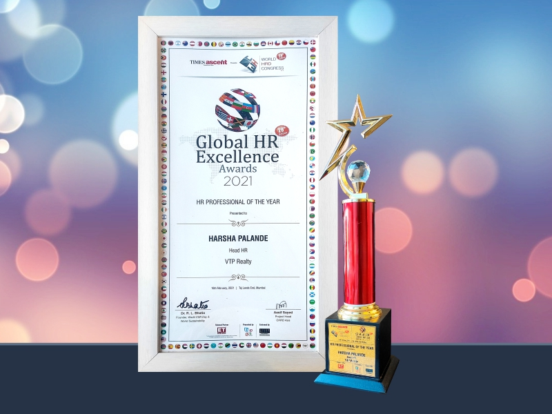 HR Professional Of The Year – Mrs. Harsha Palande