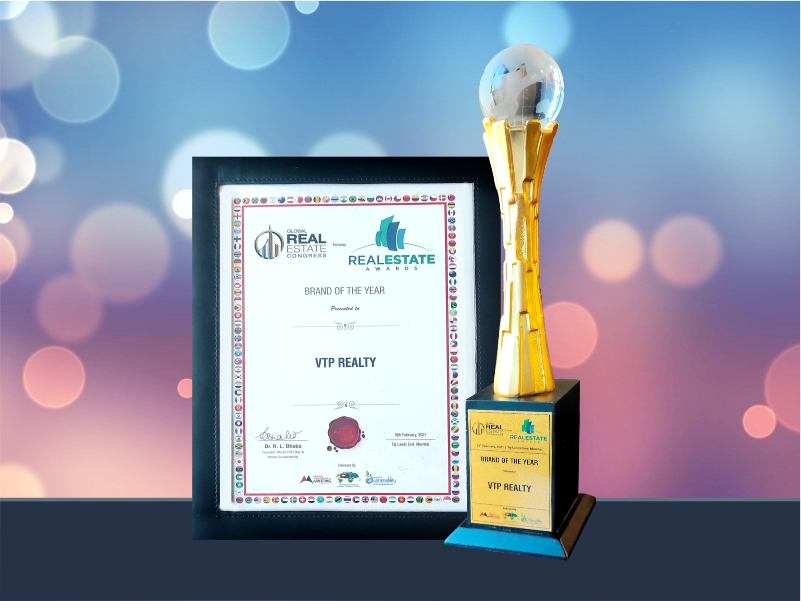Brand Of The Year – VTP Realty National Category- Real Estate